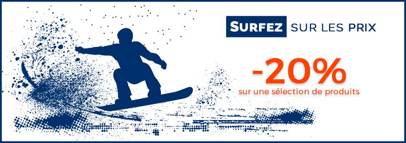 Surf sur les prix