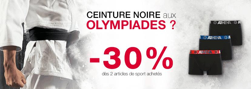 Olympiades : Ceinture noire