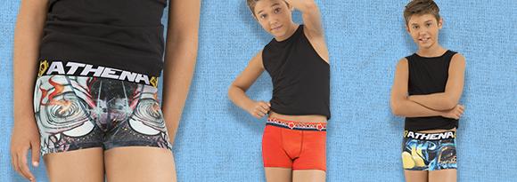 Caleçon, boxer garçon: Retrouvez toute notre collection de sous-vêtements enfant dans notre boutique en ligne. - Garçon.